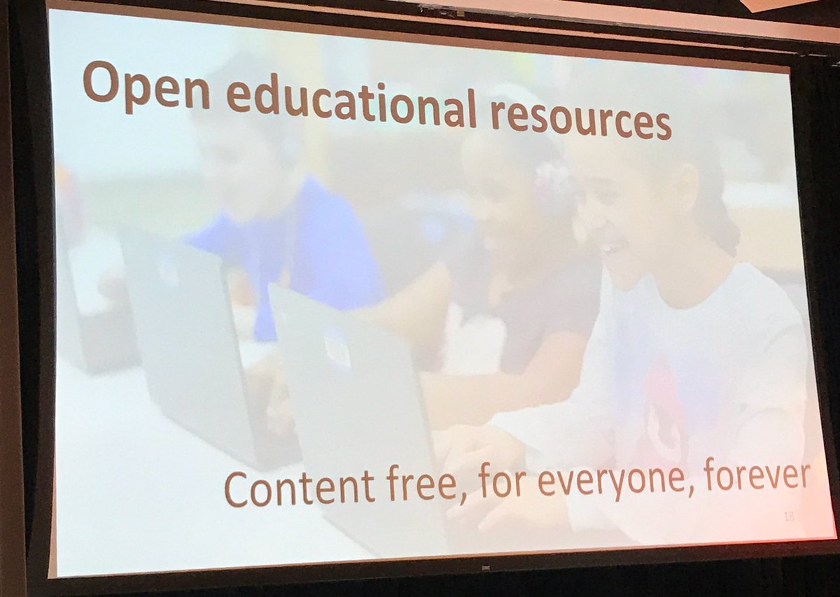 OER: For free, for everyone, forever tagline