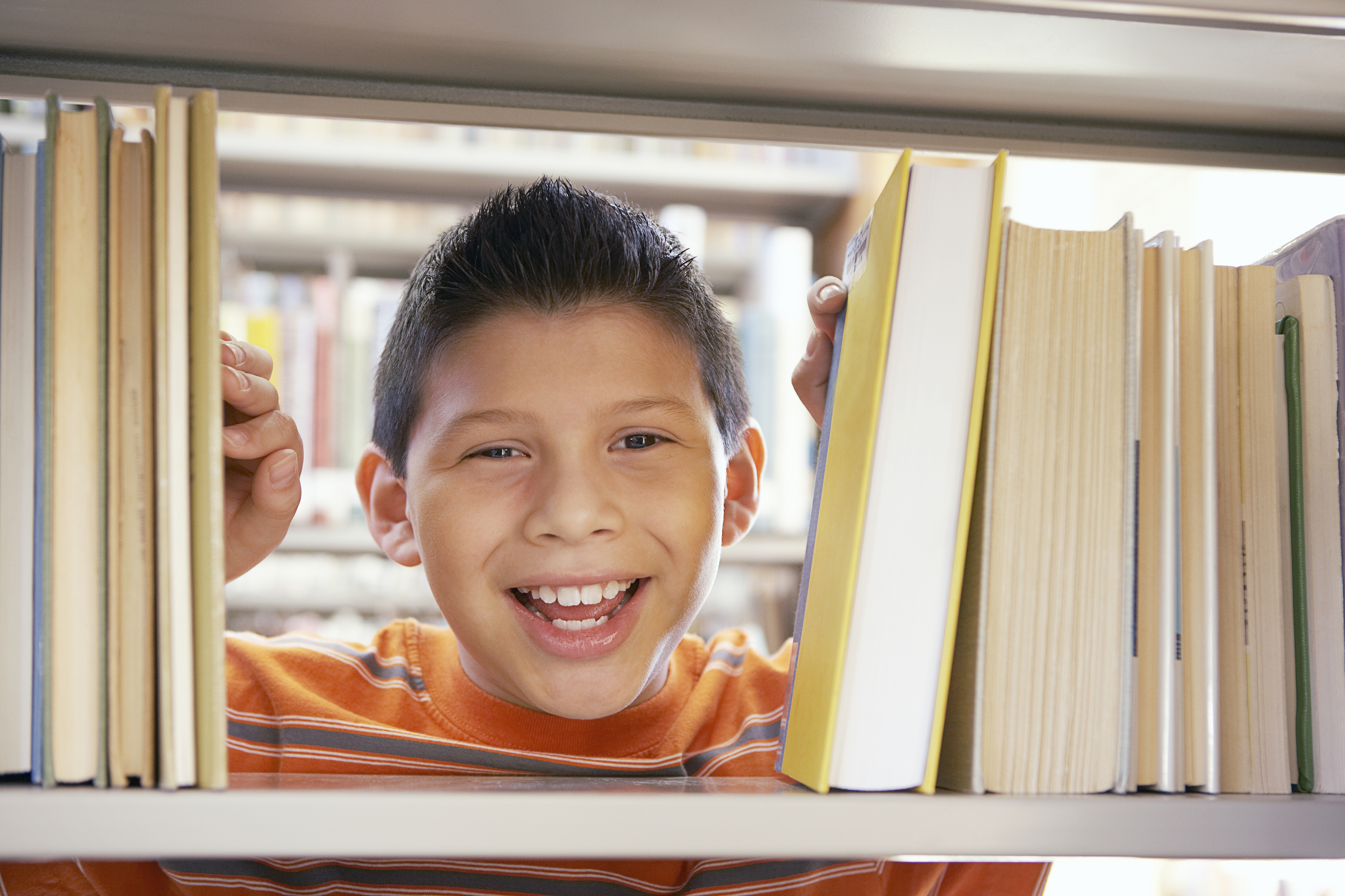 Photo of a student smiling