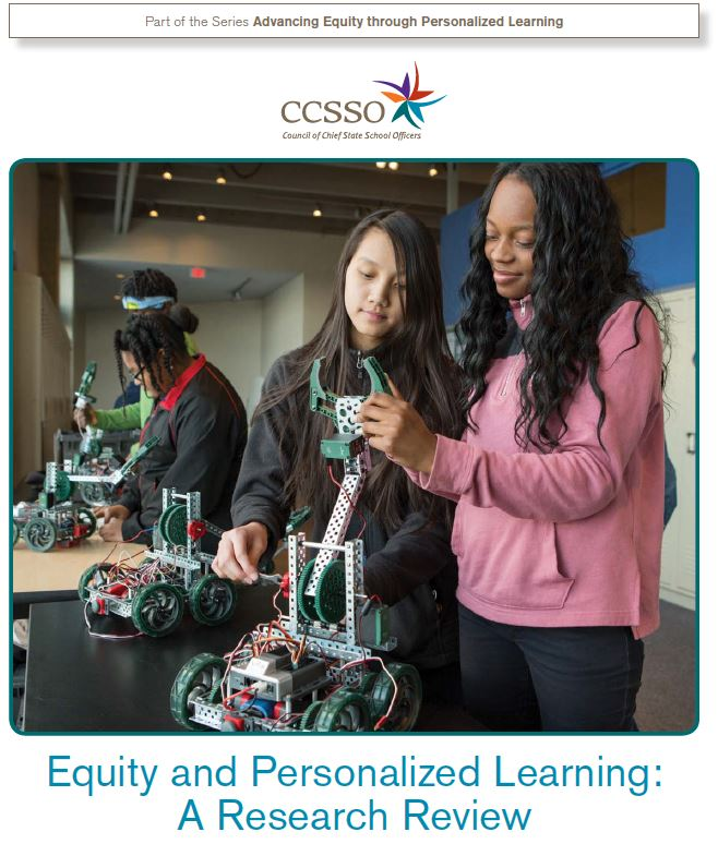 image of the equity paper of personalized learning