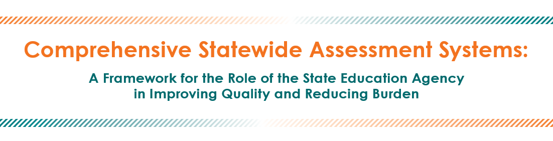Image of title page: Comprehensive Statewide Assessment Systems